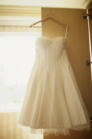 yvonne's wedding dress