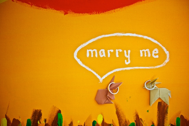 marry me painting