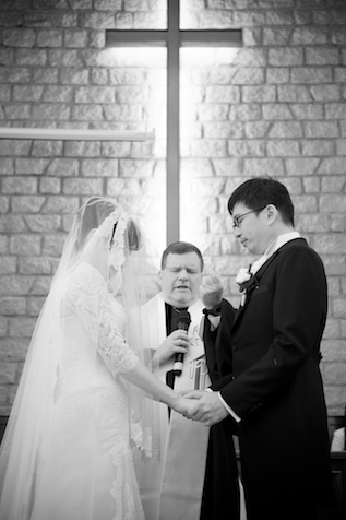 Union Church wedding in Hong Kong, Pastor Greg Anderson