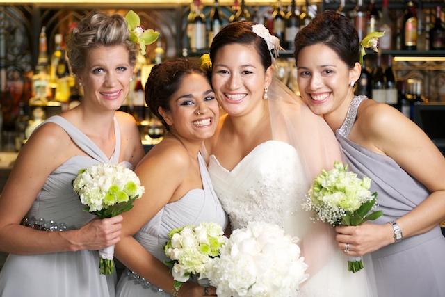 Hong Kong wedding bridesmaids