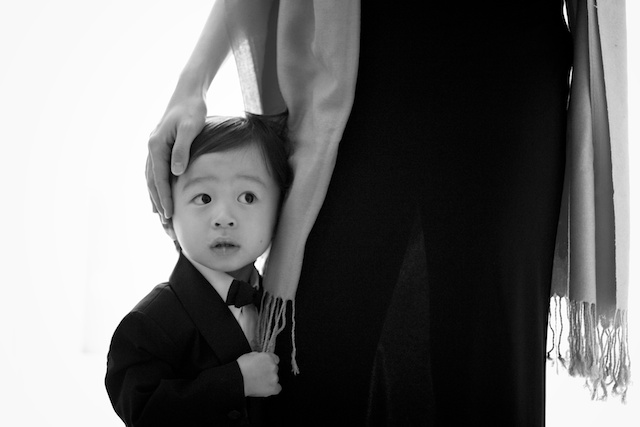 london wedding cocktail reception japanese boy tuxedo