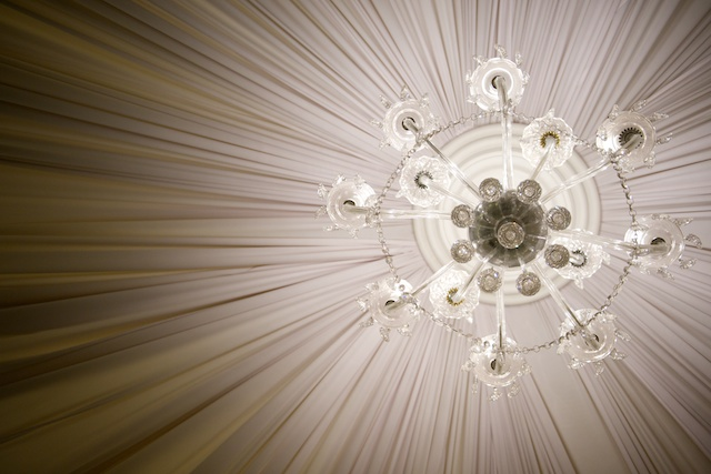 Hong Kong wedding chandelier venue light hullett house
