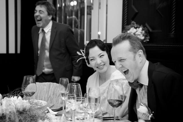 Hong Kong banquet groom bride celebration hullett house