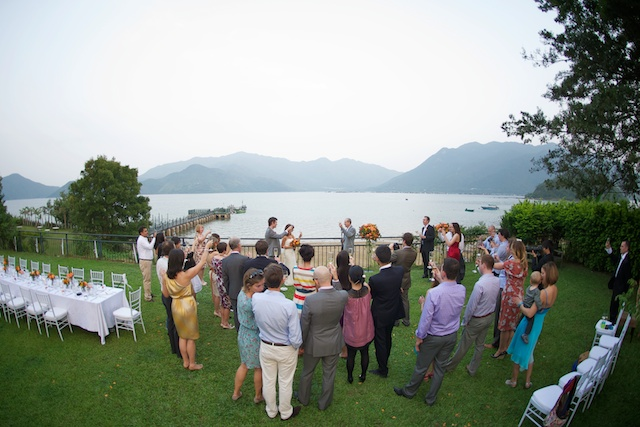 Hong Kong Wedding one-thirtyone outdoor speech venue toasting