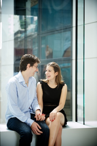 Hong-Kong-Engagement-Portrait-Session-Shoot-Outdoor-Central-Couple-Holding-Hands