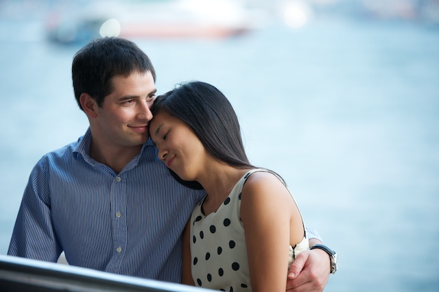Hong-Kong-Engagement-Session-Outdoor-Portrait-Tsim-Sha-Tsui-Bride-and-Groom-Waterfront