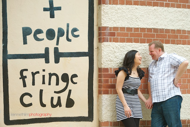 Hong-Kong-engagement-session-portraits-couple-fringe-club-walking-outdoor-groom-bride-smiling