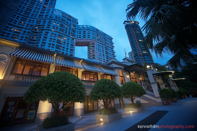 Hong Kong The Verandah wedding outdoor location