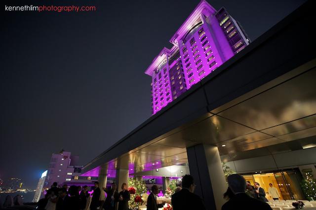 Hong Kong The Peninsula wedding hotel skyrise