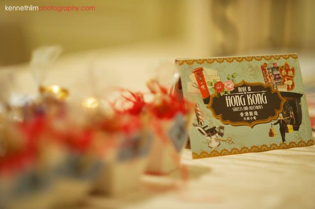 Hong Kong The Peninsula wedding table decorations