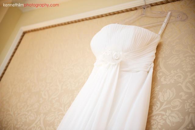 Hong Kong The Peninsula wedding bride wedding dress
