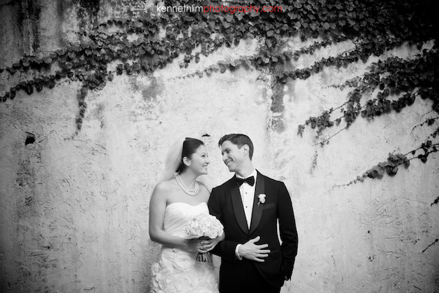 Hong Kong Country Club wedding bride groom portrait session smiling