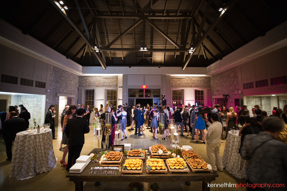 Atlanta wedding the Greystone Piedmont Park big day photography evening reception dance floor guests mingling