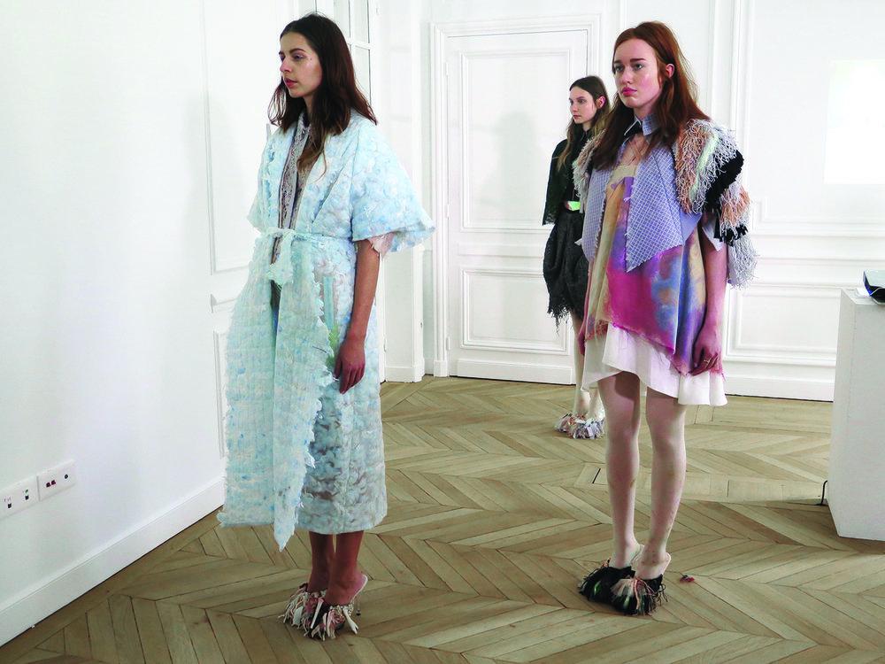 Natalie de Koning Paris Fashion Week by Zinzi de Brouwer