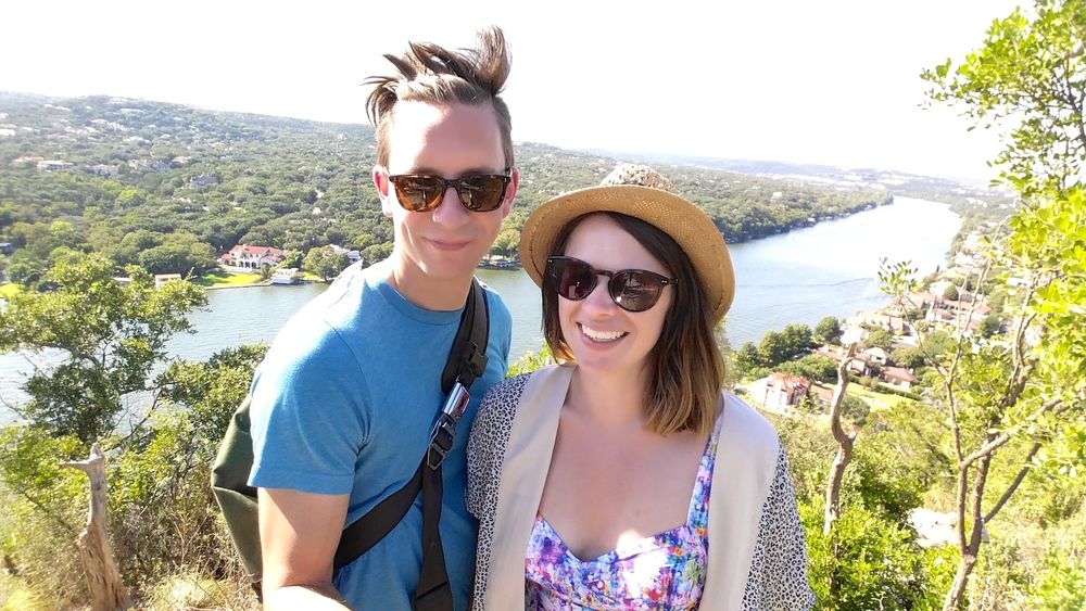 Mount Bonnell - Austin's highest point at 780 ft, very different to Seattle's highest point!