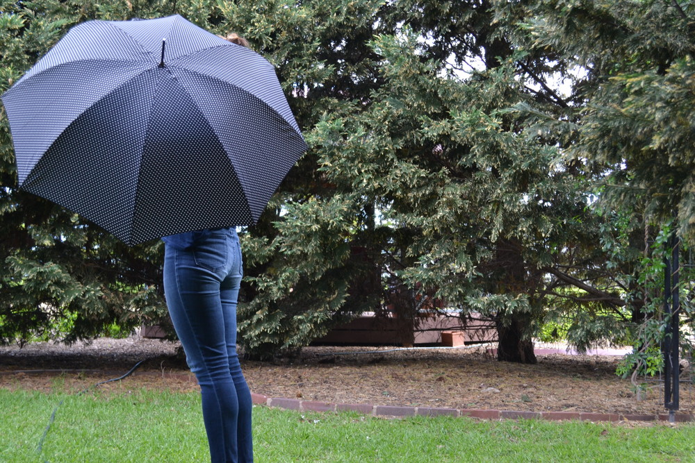 blue-polka-dot-umbrella-garden-jeans