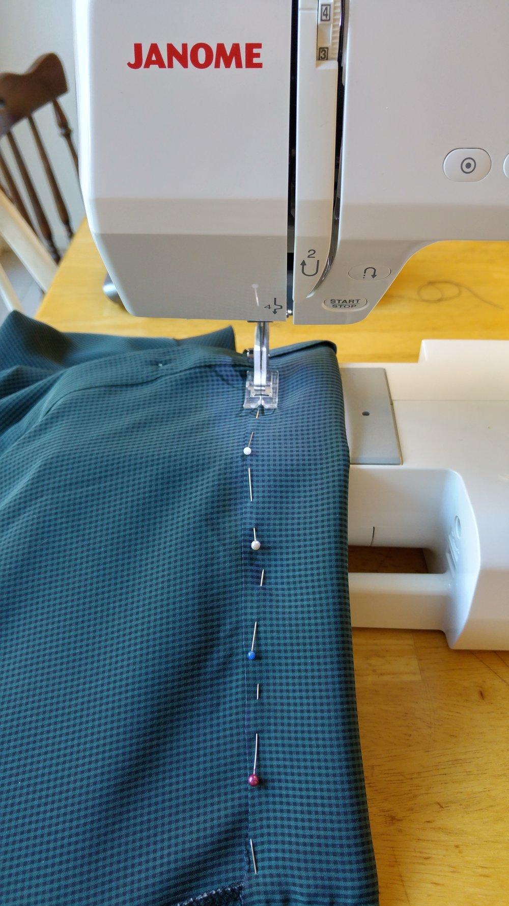 sewing-a-hem