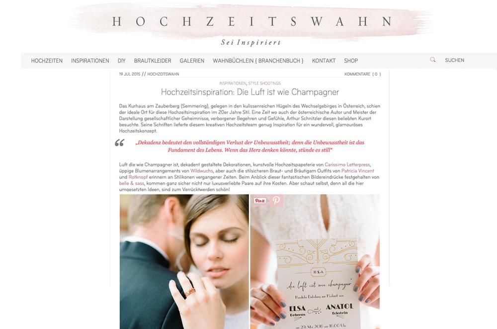 Hochzeitswahn_Carissimo Letterpress_Belle&Sass