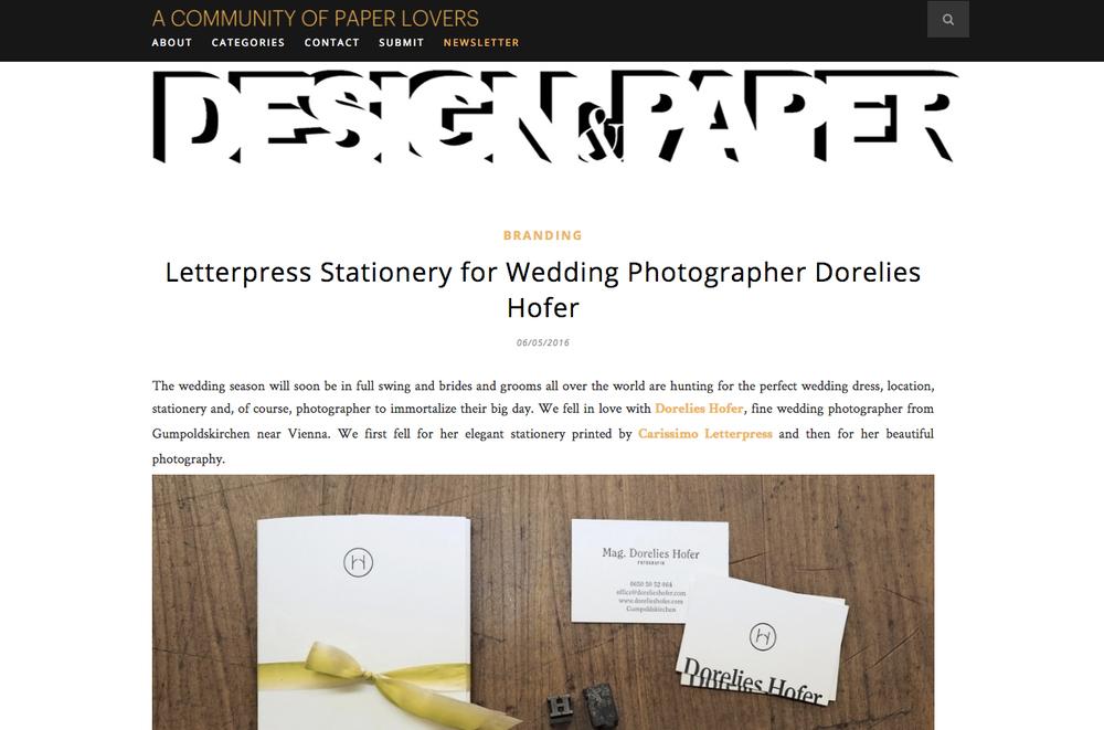 Design & Paper Artikel
