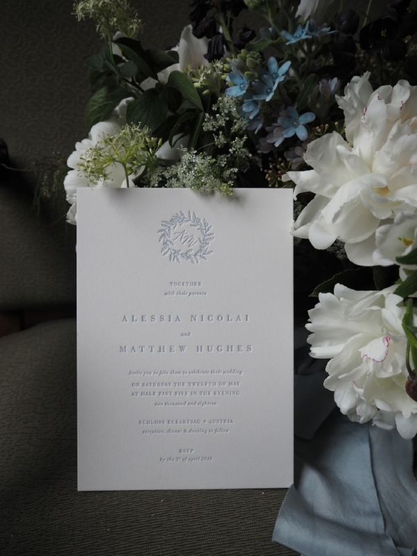 Semi Custom Suite Heritage in Letterpress