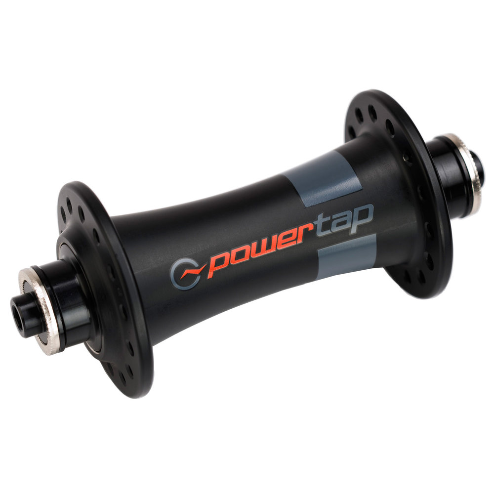 The matching Powertap G3 front hub. Available in standard J bend or a  20 hole only straight pull version.