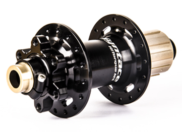 The Syntace HiTorque MX rear hub, also available in 148 x 12 boost model.