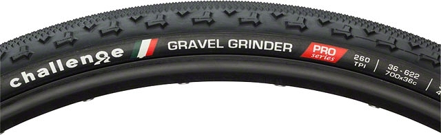 Challenge tires offers up their Gravel Grinder, aptly named for haunting gnarly roads and lost paths. 700 X 36C wide and 260 threads per inch.