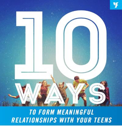 10 Ways to Form Meaningful Relationships With your Teens - The real work of youth ministry takes place in the context of relationships. It is through deep and real relationships that our teens experience the transformative love of Christ. Ask any youth worker and they'll tell you, it can be hard to get through to our teens to build meaningful relationships. That's why we've created a collection of tips to better equip you!