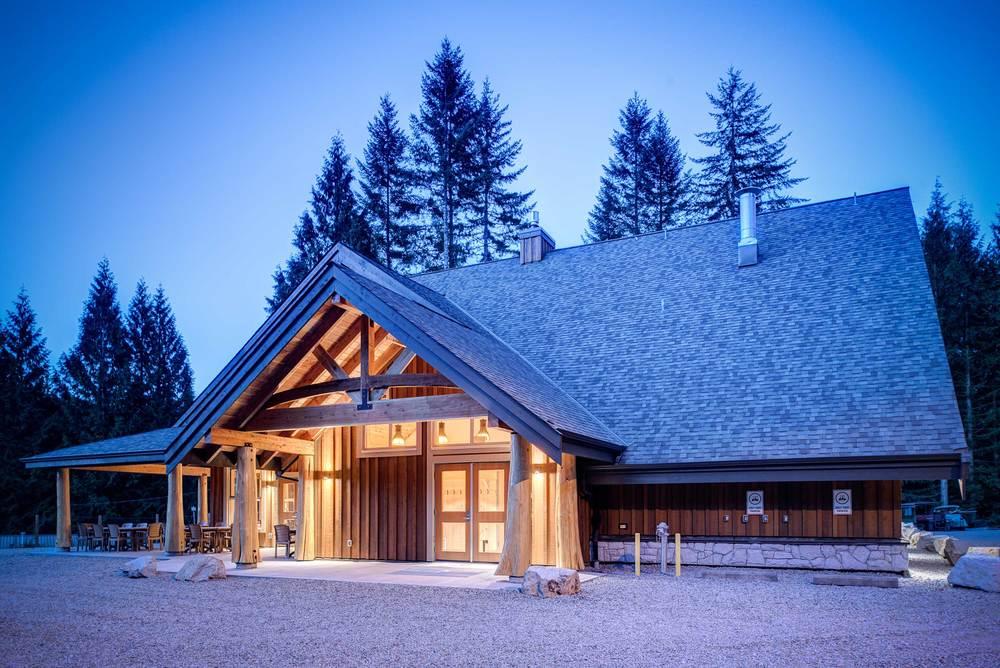 UBC Loon Lake Dining Hall