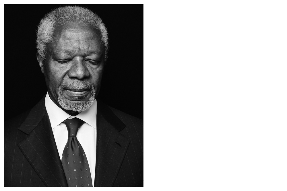 Kofi Annan, former Secretaries-General - United Nations