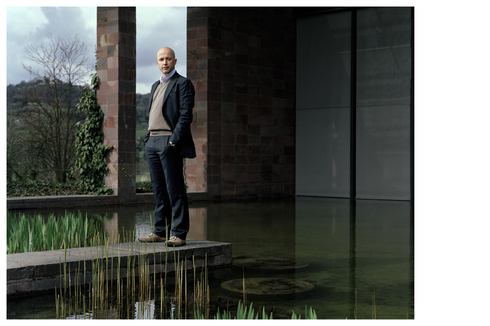 Samuel Keller, director of the Fondation Beyeler © Anoush Abrar & Aimée Hoving
