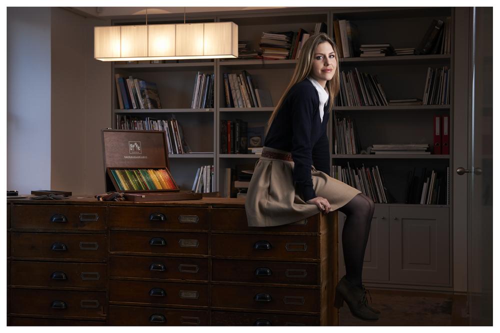 Leila Ruffieux, Montblanc watch designer © Anoush Abrar & Aimée Hoving