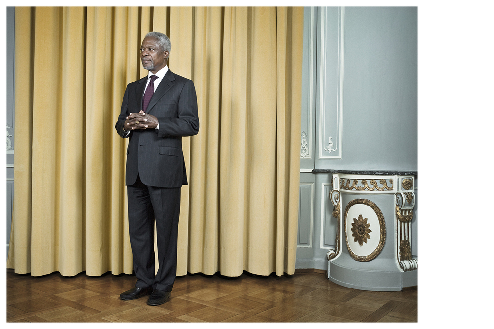 Kofi Annan, former Secretaries-General - United Nations © Anoush Abrar & Aimée Hoving