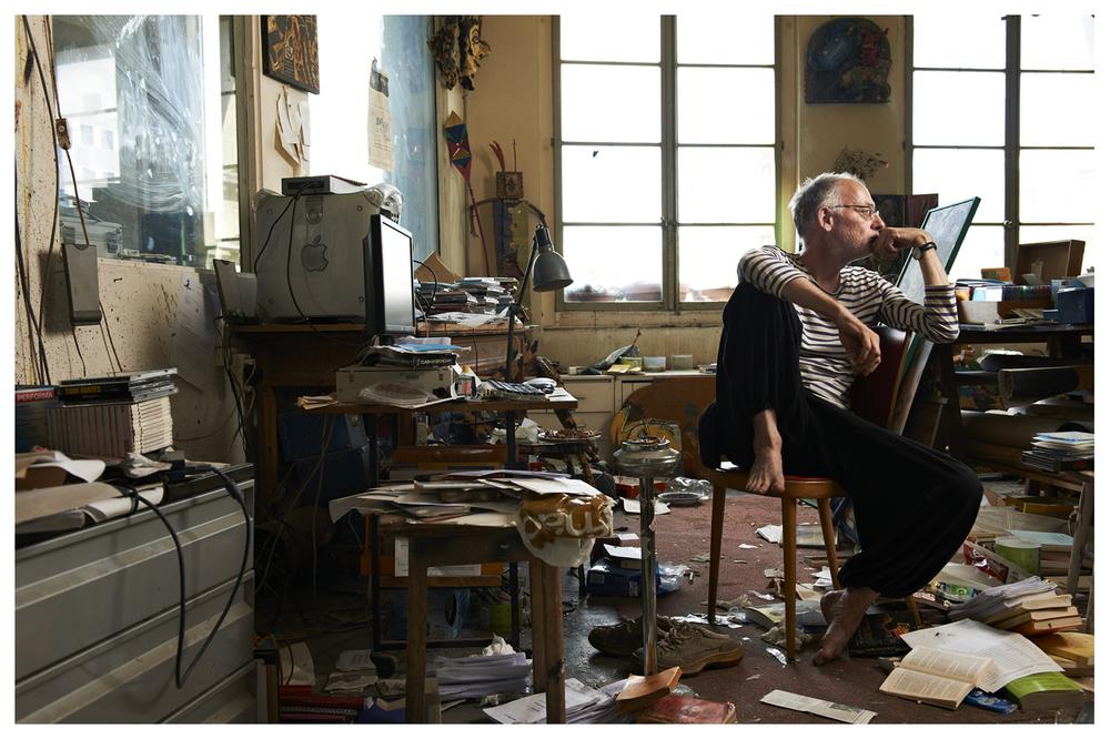 Henry Meyer, writer © Anoush Abrar & Aimée Hoving