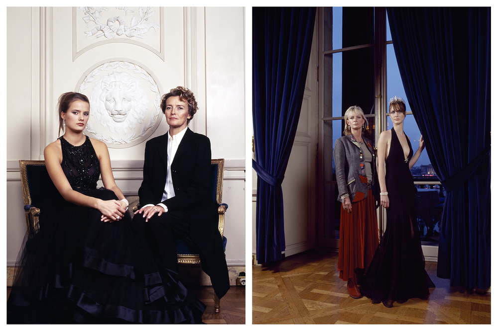 Bal des débutantes, Saperstein (left), Hugues (right) © Anoush Abrar & Aimée Hoving