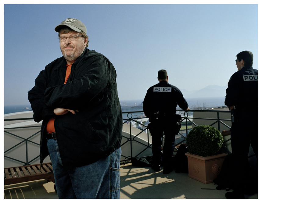 Michael Moore, movie director | Cannes Festival