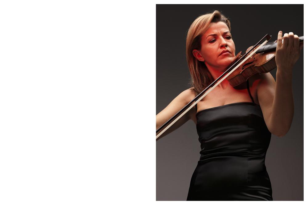 Anne-Sophie Mutter, violinist @ Anoush Abrar & Aimée Hoving