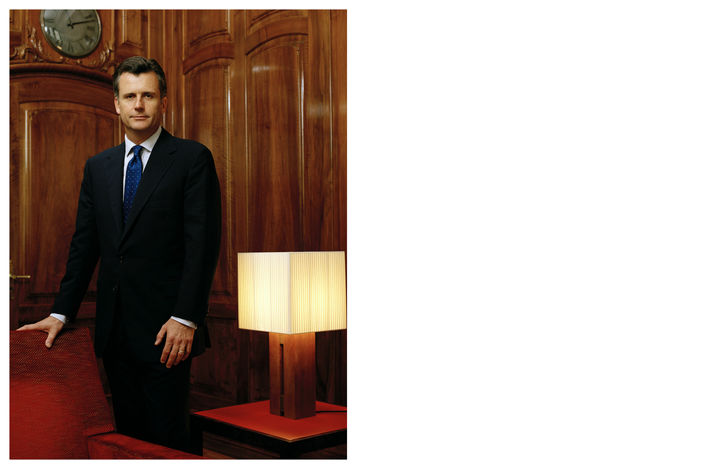 Philipp Hildebrand, former director of the Swiss National Bank (SNB) © Anoush Abrar & Aimée Hoving