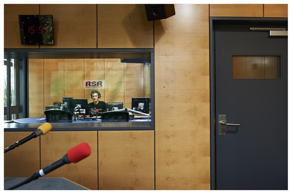 Pierre Philippe Cadert, radio presenter © Anoush Abrar & Aimée Hoving
