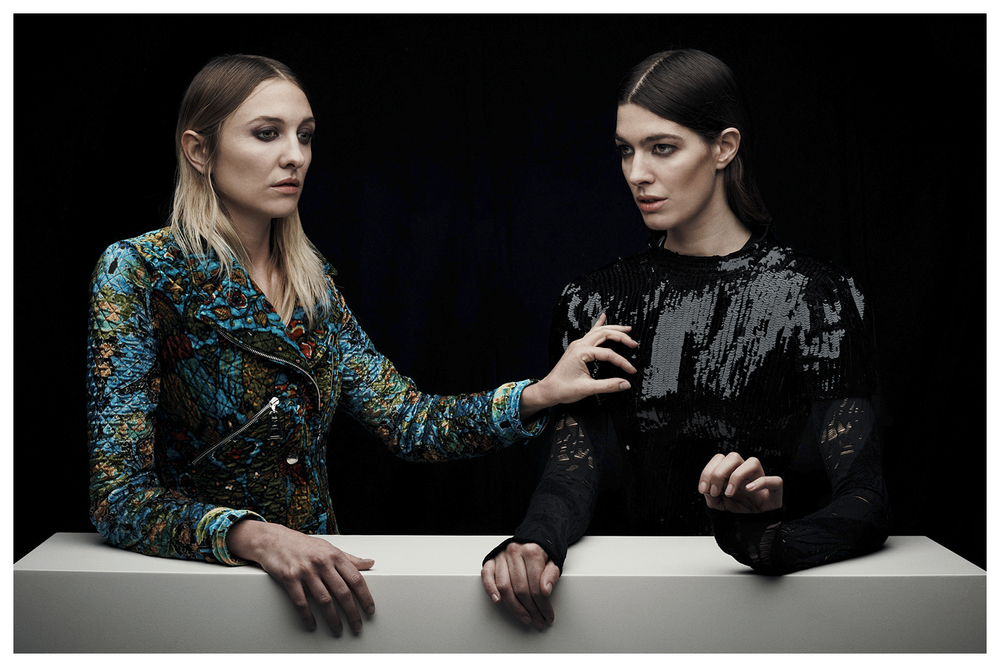 Luisa Orsini & Tine Peduzzi, designers of an accessories brand called TL180