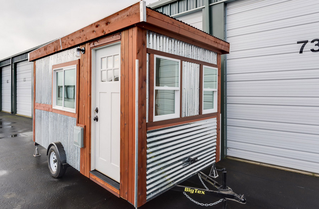 The Walden is a 98 square foot tiny house built by Graham Berry in Aurora, Oregon.