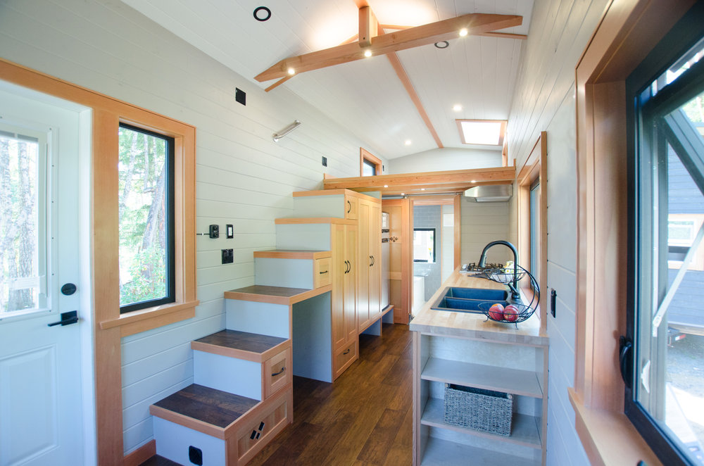 The Kestrel 24' Tiny Home: living small in style — Rewild Homes on tiny houses wisconsin, tiny texas houses, tiny home, room design, tiny cottages with porches, cottage design, tiny victorian houses, tiny cottages and sheds, tiny mountain houses, swimming pool design, tiny houses in mn, architecture design, tiny houses built, shed design, tiny cottages on wheels, garage design, green design, tiny houses and cottages, tiny houses in america, bathroom design,
