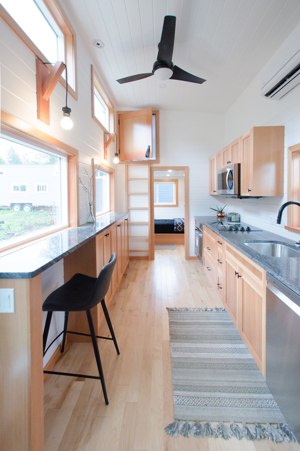The Albatross 28 Tiny Home With 3 Bedrooms Rewild Homes