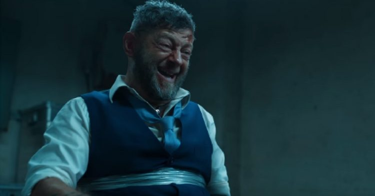 There won't even be space to mention what a delightful weirdo Andy Serkis was