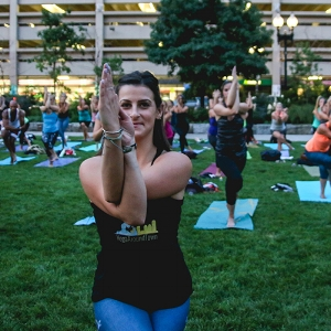 Meet your Yoga Around Town instructor, Leah Frasca!  Click here to read Leah's bio .