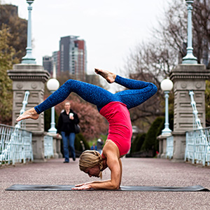 Meet your Yoga Around Town instructor, Meghan Rozanski Bundage.  Click here to read Meghan's bio.