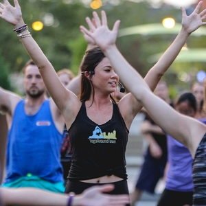Meet your Yoga Around Town instructor, Maggie Walsh Deaver.  Click here to read Maggie's bio.