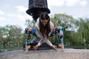 Meet your Yoga Around Town instructor, Leah Frasca!  Click to read Leah's bio .