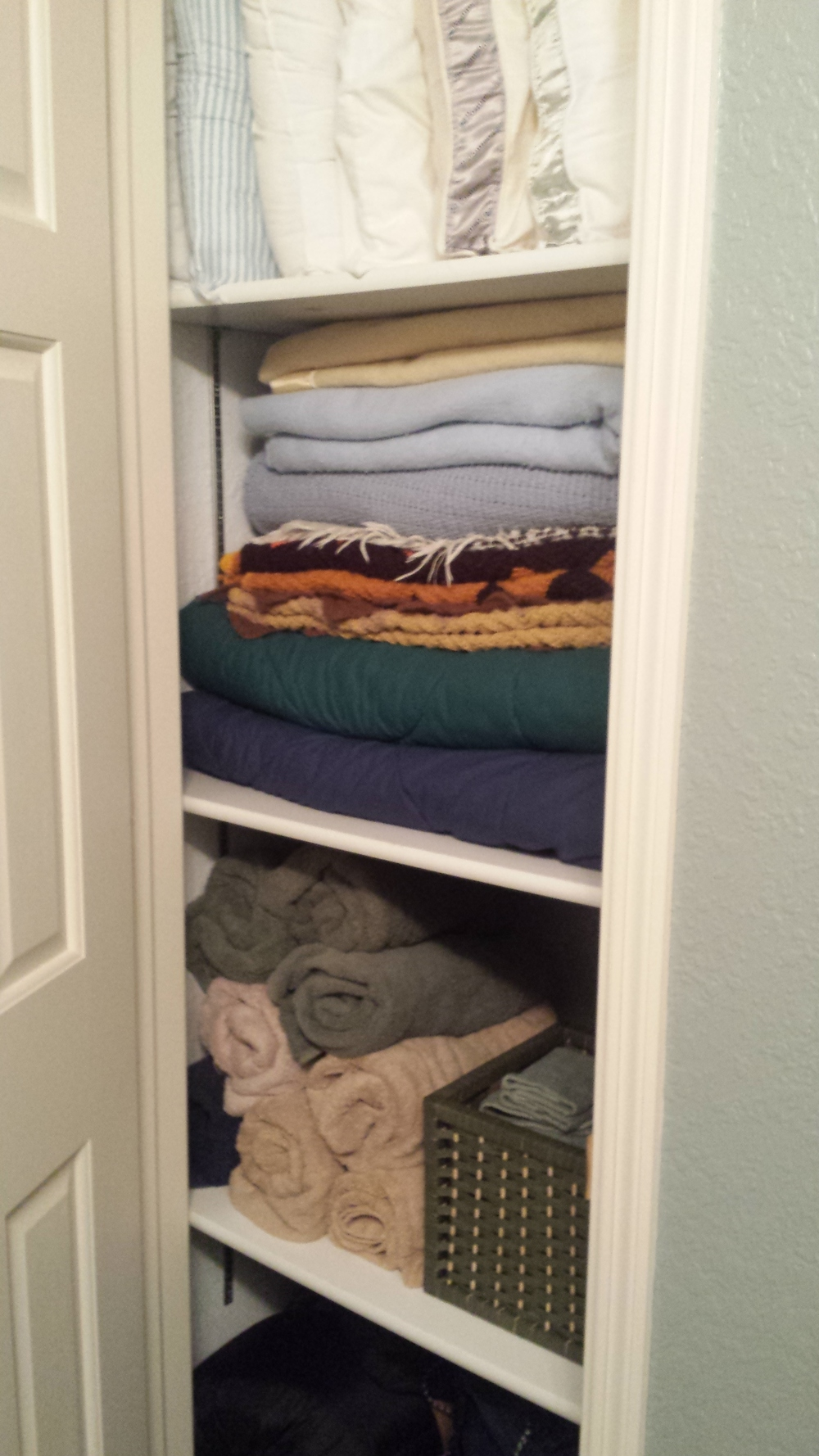 After - Linen Closet