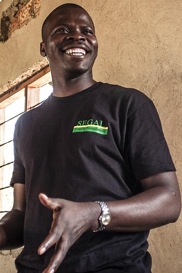 Aaron Bukenya, Project Coordinator
